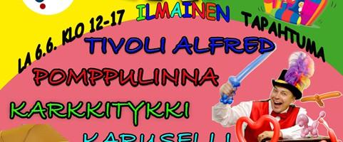 Uusi uutinen ALFRED TANKAVAARASSA 6.6.2015