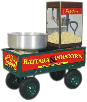 Popcorn ja Harrata ovat lasten suosikkeja.