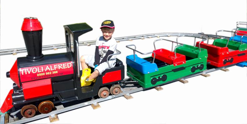 Lasten juna Santa Fe junarata - Posetiivari.com