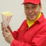 Pietarsaaressa myydään popcornia ja hettaraa.