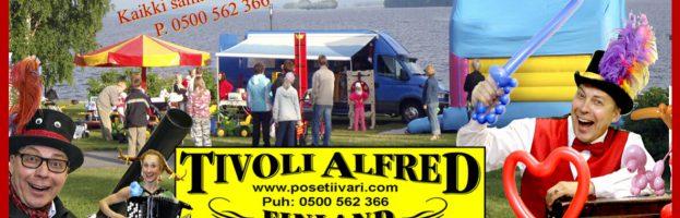 Tivoli Alfred Suomi 100-vuotta kiertue
