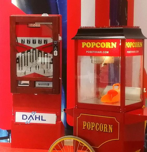 Pajatso ja popcornkone